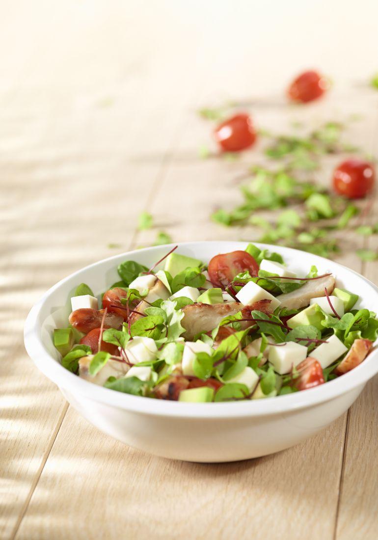 F&C salade kip mozarella