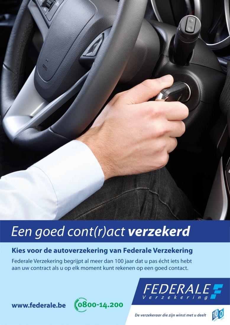 Federale auto affiche