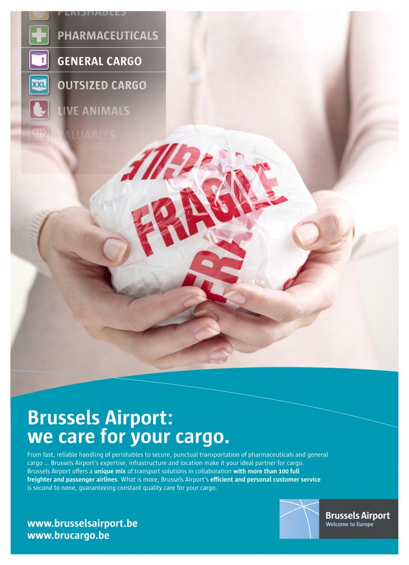 Brussels Airport fragile