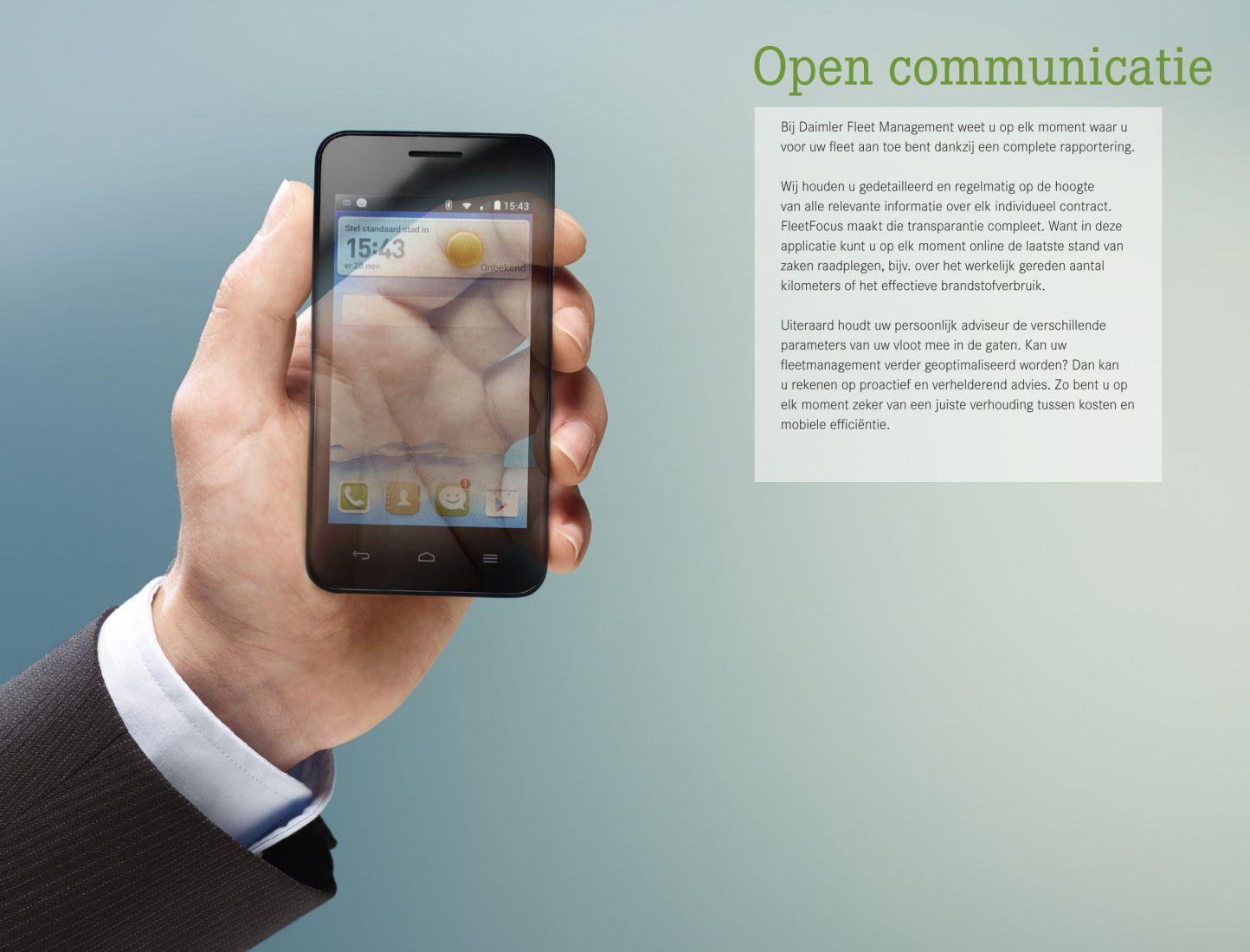 Daimler smartphone